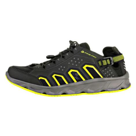 Theode černá sportovní letní obuv ALPINE PRO