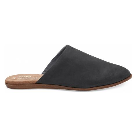 Toms Leather Jutti Mule černé 10011761