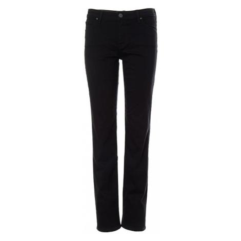Lee jeans Marion Straight Black Rinse dámské černé