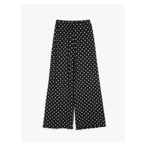 GATE Široké puntíkované kalhoty