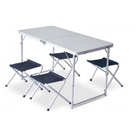 Set Pinguin Furniture (stůl + 4 židle) Barva: petrol