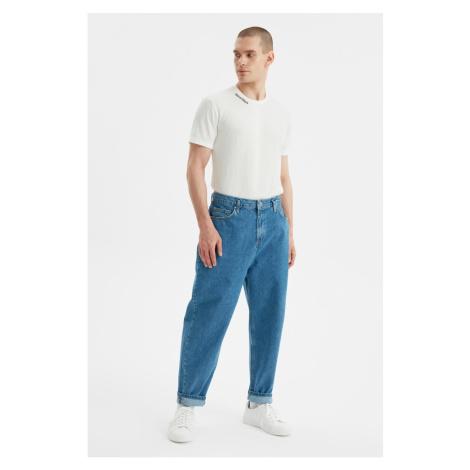 Trendyol Blue Men's Balloon Fit Jeans