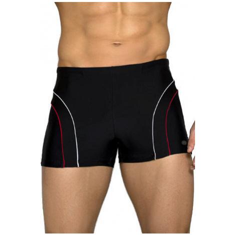 Pánské boxerkové plavky Ditrich černé Lorin