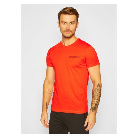 Calvin Klein pánské oranžové tričko