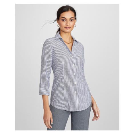 Košile Brooks Brothers Bls Ni Li Elbw Slv Nvywhtstripe - Různobarevná