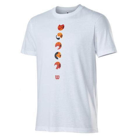 Pánské tričko Wilson Tokyo 2021 Tech Tee White