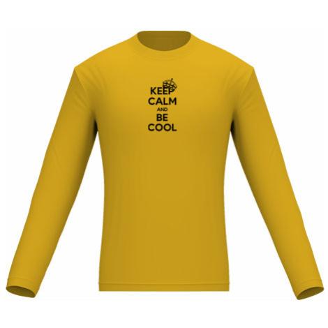 Pánské tričko dlouhý rukáv Keep calm and bee cool