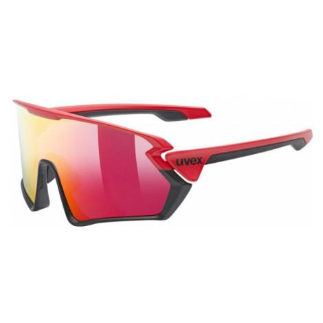 Sluneční brýle Uvex Sportstyle 231 red/black mat