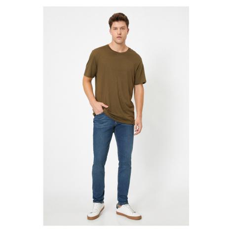Koton Men's Petrol Jeans