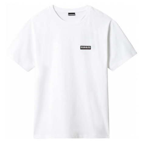 NAPAPIJRI NAPAPIJRI pánské unisex bílé tričko PATCH