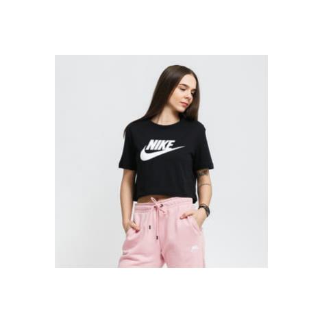 Nike W NSW Tee Essential Crop Icon černé