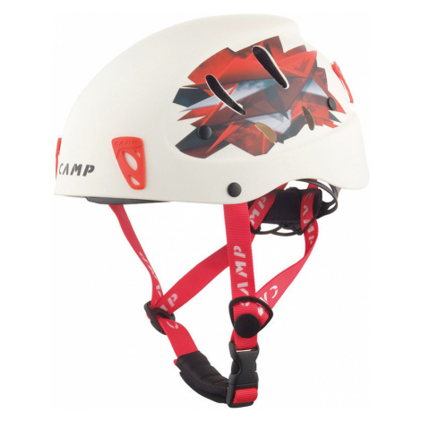 Přilba CAMP Armour white/red