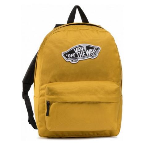 VANS VANS pánský žlutý batoh WM REALM BACKPACK