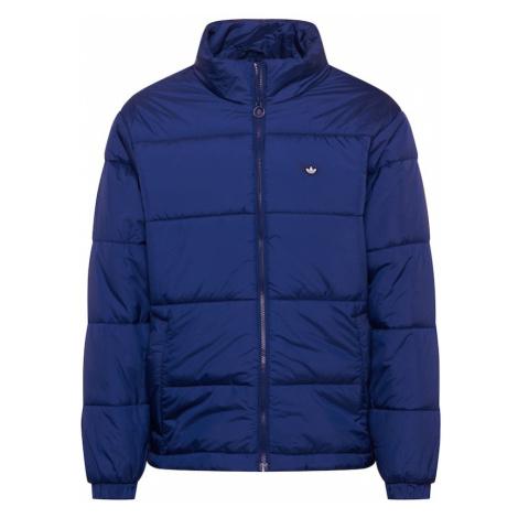 ADIDAS ORIGINALS Zimní bunda námořnická modř / bílá
