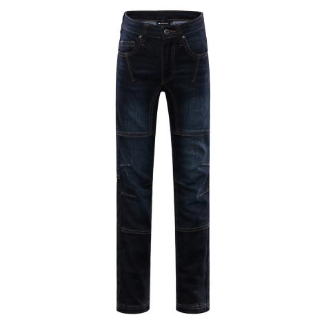 Dětské kalhoty Alpine Pro CHIZOBO - tmavě modrá