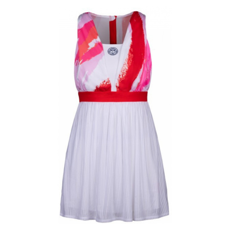Dámské šaty BIDI BADU Ankea Tech Dress (2in1) White/Red,