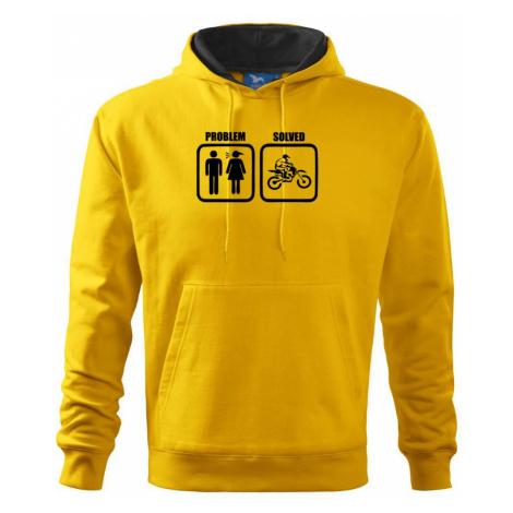 Problém cross motorka - Mikina s kapucí hooded sweater