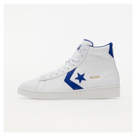 Converse Pro Leather White/ Rush Blue/ White