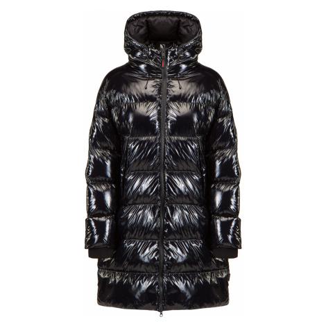 Prošívaný kabát Napapijri A-LOYLY W LONG černá