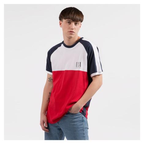 Bílo-červené triko KAOTIKO