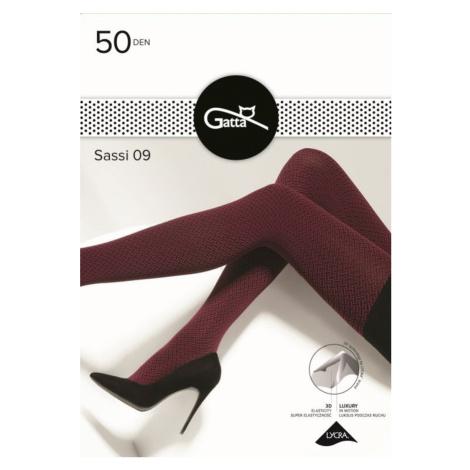Dámské vzorované punčochové kalhoty SASSI Gatta