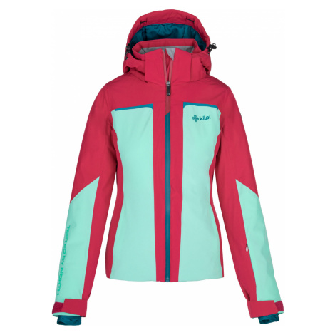 KILPI Dámská lyžařská bunda MAANIA-W NL0039KITRQ Tyrkysová