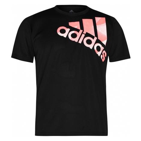 Pánské černé tričko Adidas