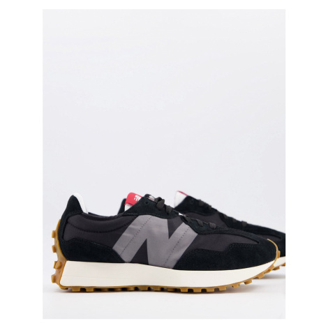New Balance 327 trainers in dark grey