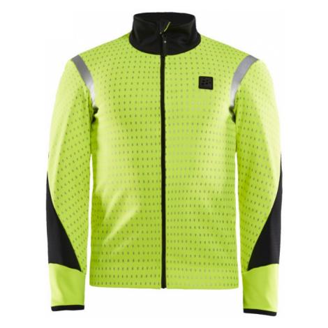 Pánská bunda CRAFT Hale SubZ žlutá/černá