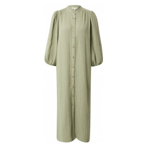 Mbym Košilové šaty 'Mirella' světle zelená