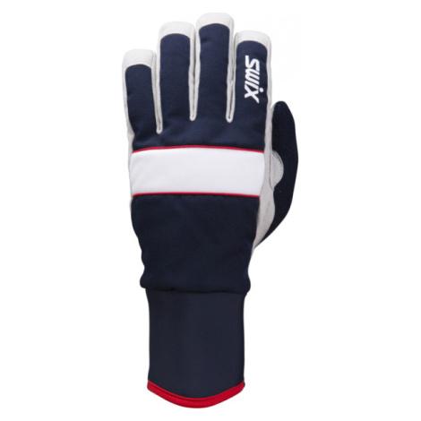 Swix POWDER tmavě modrá - Běžkařské rukavice