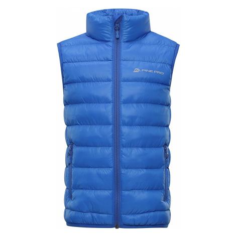Dětská vesta Alpine Pro KAPETO - modrá