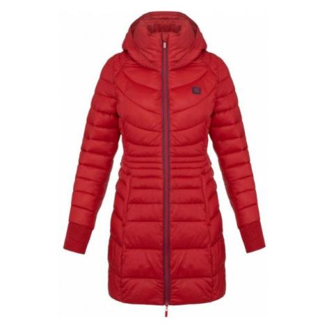 Loap JESNA červená - Dámský zimní kabát