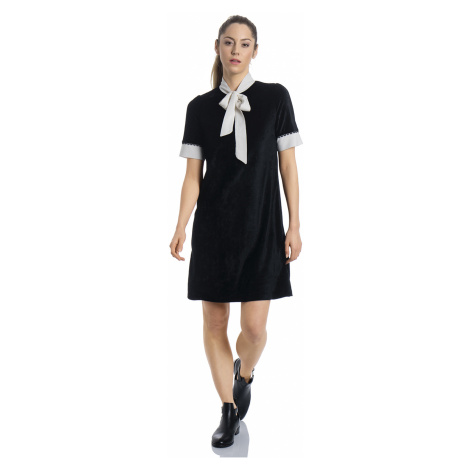 Sametové šaty černé Vive Maria Velvet Dream