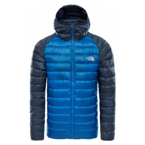 The North Face TREVAIL HOODIE modrá - Pánská zateplená bunda