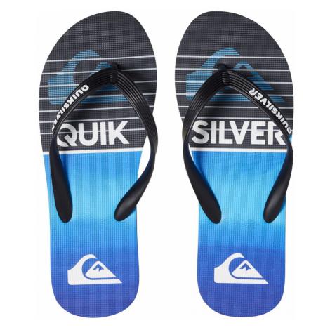 Žabky Quiksilver Molokai Highline Slab black/black/blue