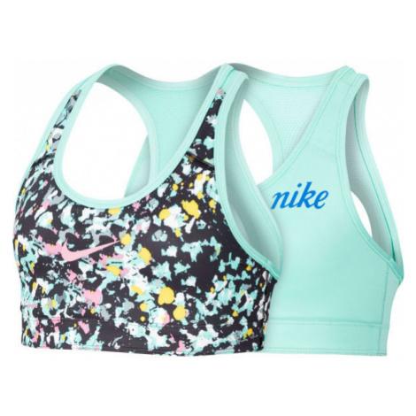 Nike CL REVERSIBLE BRA JDIY G černá - Dívčí oboustranná podprsenka