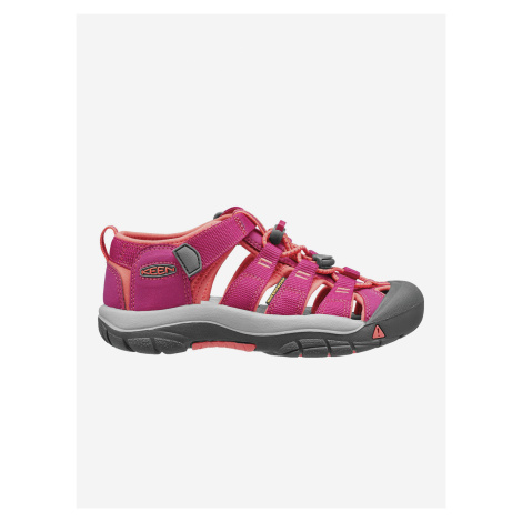 Boty Keen Newport H2 Jr. Very Berry/Fusion Coral Us Barevná