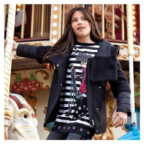 Dívčí zimní kabát Mayoral 7426 | černá