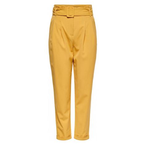 ONLY Dámské kalhoty ONLSICA HW PAPERBAG Spruce Yellow