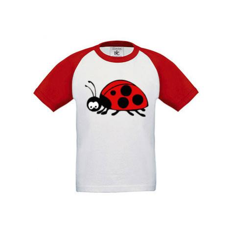 Dětské tričko baseball Beruška