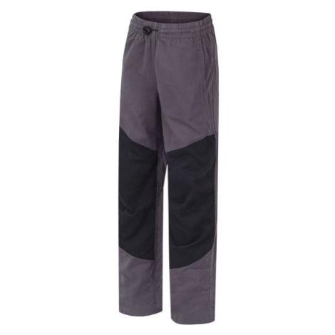 Hannah TWIN JR černá - Dětské kalhoty