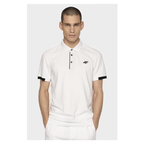 4F Pánské tričko TSM303 - bílá