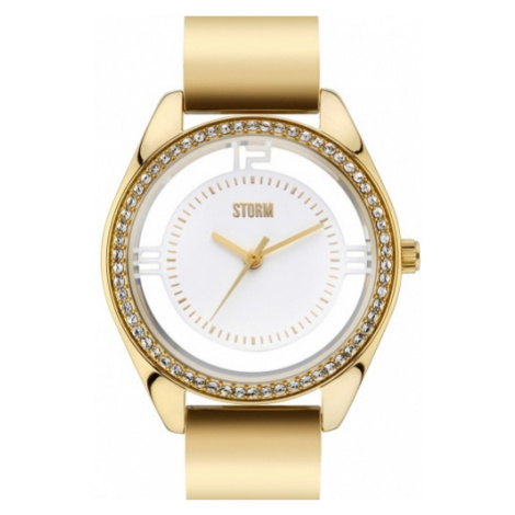 STORM MINI PIZAZ GOLD, Dámské pozlacené hodinky