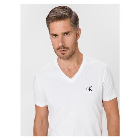 Essential Triko Calvin Klein Bílá