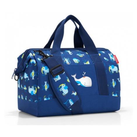 Cestovní taška Reisenthel Allrounder M kids Abc friends blue