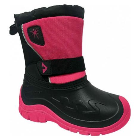 Crossroad CLOUD růžová - Dětská zimní obuv