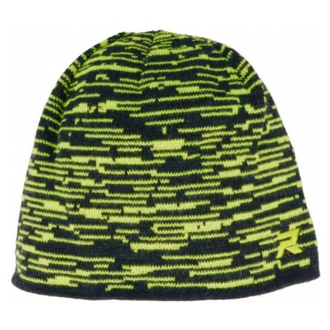 RELAX DELTA Zimní čepice RKH163B černo-žlutá 10-12Y
