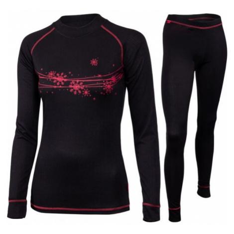 Klimatex PEROSA černá - Set dámského funkčního prádla