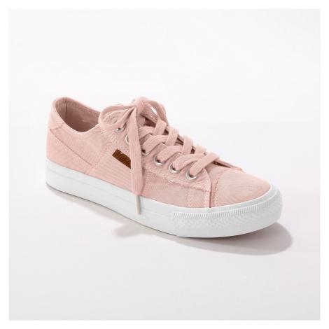 Blancheporte Plátěné tenisky, růžové růžová